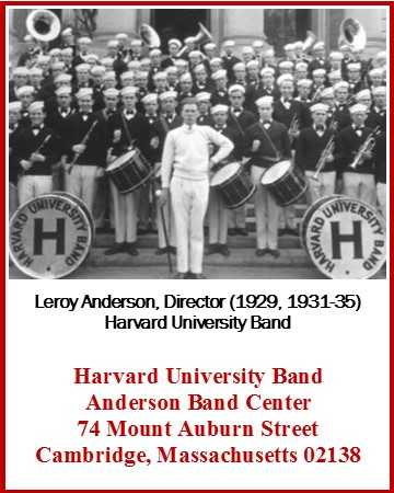 Anderson Band Center, Harvard University Band